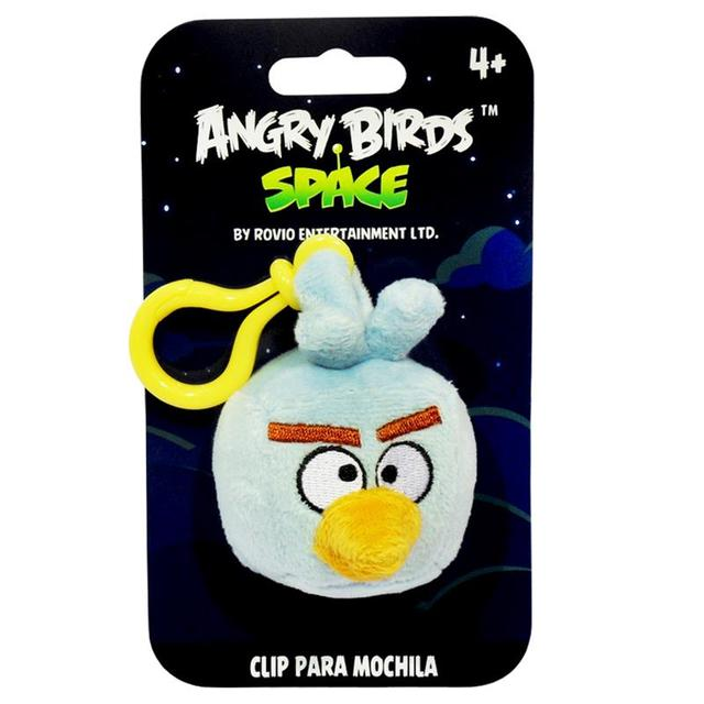 CHAVEIRO ANGRY BIRDS SPACE ICE BOMB 13CM
