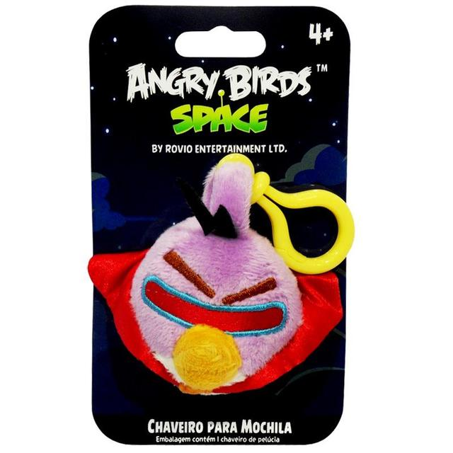 CHAVEIRO ANGRY BIRDS SPACE LAZER 13CM