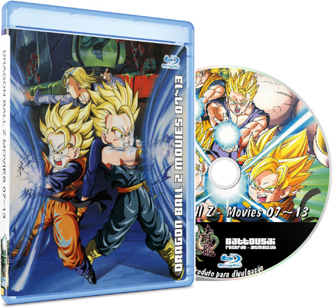 DRAGON BALL Z MOVIES 07-13 - BLU-RAY