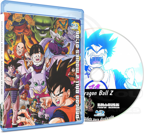 DRAGON BALL Z MOVIES 01-06 - BLU-RAY