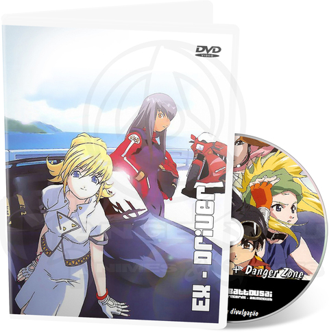 ÉX-DRIVER THE MOVIE + OVA (DANGER ZONE)
