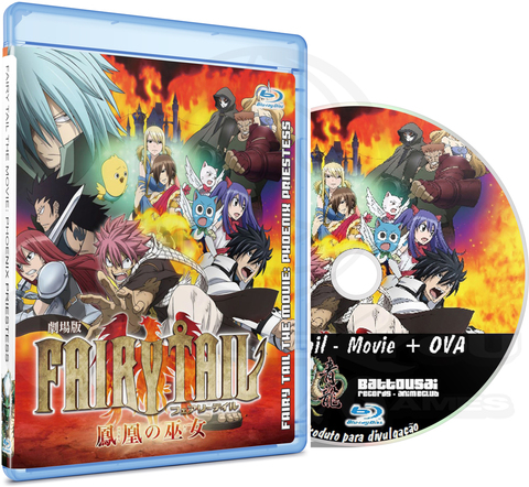 FAIRY TAIL THE MOVIE: PHOENIX PRIESTESS + OVA - BLU-RAY