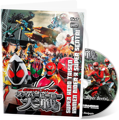 KAMEN RIDER X SUPER SENTAI: SUPER HERO TAISEN - MOVIE HD