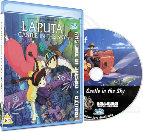 LAPUTA - CASTLE IN THE SKY - MOVIE (EDIÇÃO FANSUBBER) - BLU-RAY