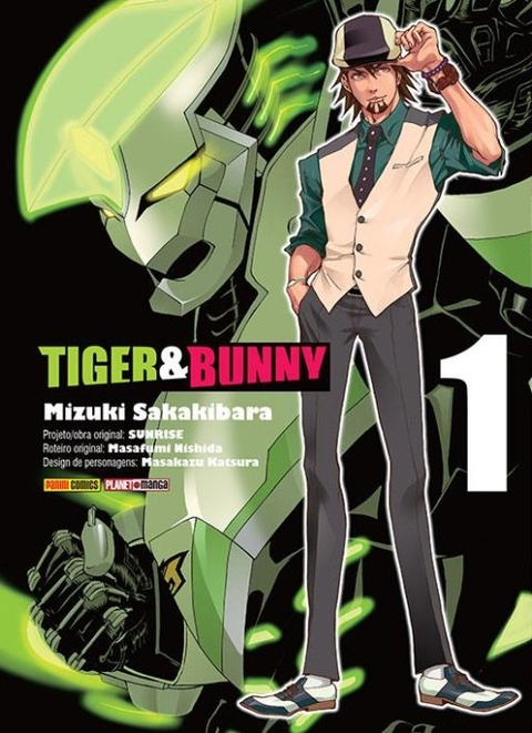 TIGER & BUNNY VOL. 01