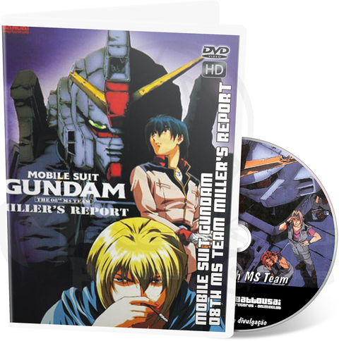 MOBILE SUIT GUNDAM THE 8th MS TEAM: MILLER'S REPORT - MOVIE HD