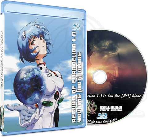 REBUILD OF EVANGELION 1.11 YOU ARE (NOT) ALONE - MOVIE (EDIÇÃO FANSUBBER) - BLU-RAY