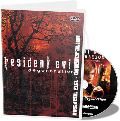 RESIDENT EVIL DEGENERATION - MOVIE