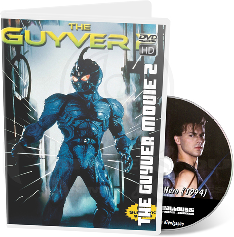 THE GUYVER MOVIE 2: DARK HERO (1994) - MOVIE