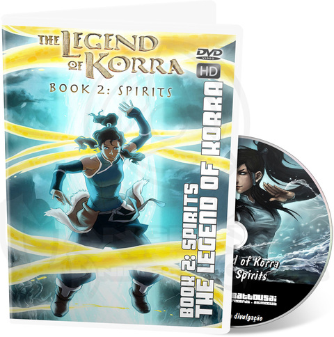 THE LEGEND OF KORRA: BOOK 2 - SPIRITS