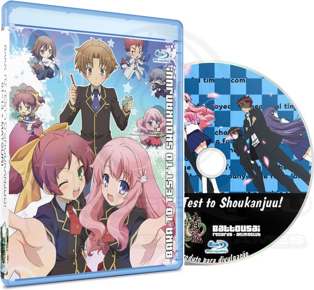 BAKA TO TEST TO SHOUKANJUU! 01-13 + MATSURI - BLU-RAY
