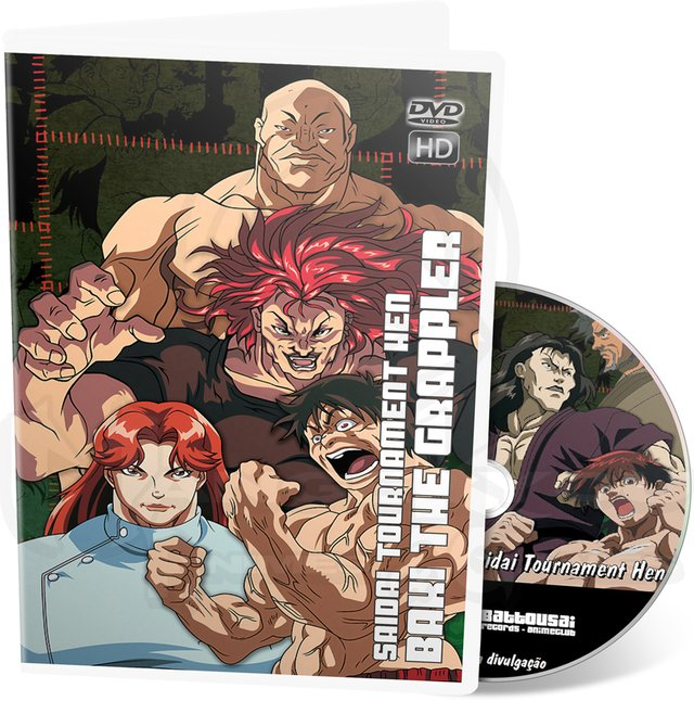 BAKI THE GRAPPLER SAIDAI TOURNAMENT HEN