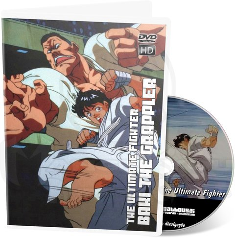 BAKI THE GRAPPLER THE ULTIMATE FIGHTER - OVA HD