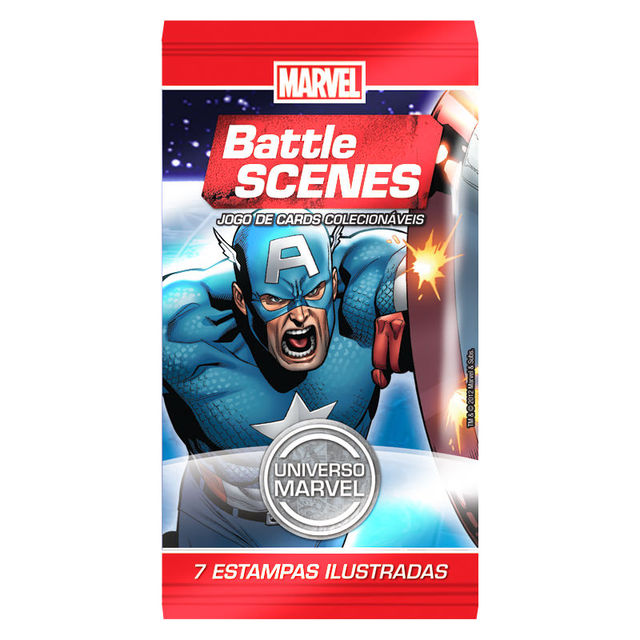 BOOSTER BATTLE SCENES MARVEL - comprar online