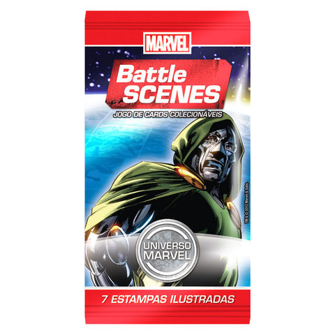 BOOSTER BATTLE SCENES MARVEL na internet