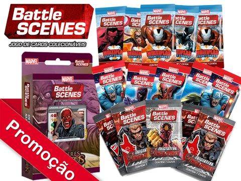 COMBO ESPECIAL MARVEL BATTLE SCENES