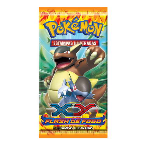 POKÉMON BOOSTER XY 2 - FLASH DE FOGO na internet