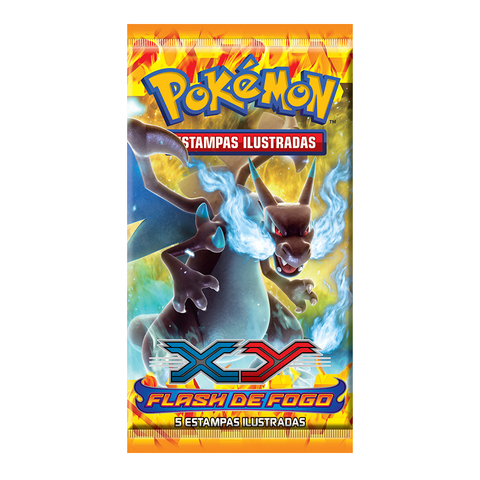 POKÉMON BOOSTER XY 2 - FLASH DE FOGO