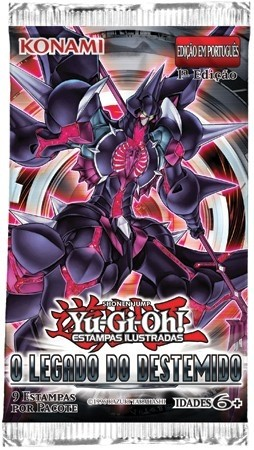 YU-GI-OH! - BOOSTER O LEGADO DO DESTEMIDO