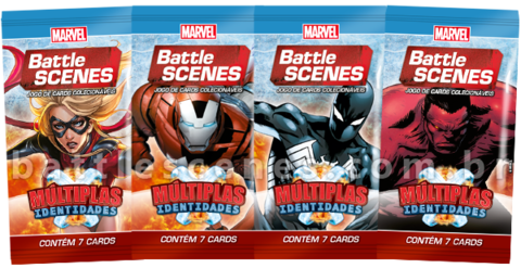 BOX DISPLAY C/ 36 BOOSTERS BATTLE SCENES MÚLTIPLAS IDENTIDADES - comprar online