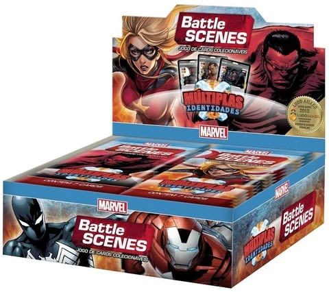 BOX DISPLAY C/ 36 BOOSTERS BATTLE SCENES MÚLTIPLAS IDENTIDADES
