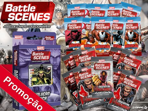 COMBO ESPECIAL 2 MARVEL BATTLE SCENES