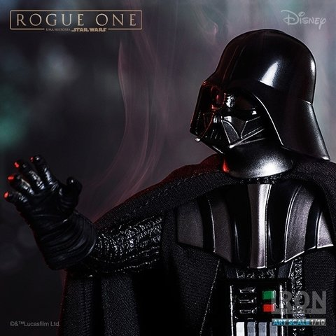 DARTH VADER 1/10 - ROGUE ONE: A STAR WARS STORY - IRON STUDIOS - comprar online