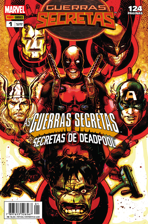 AS GUERRAS SECRETAS DE DEADPOOL