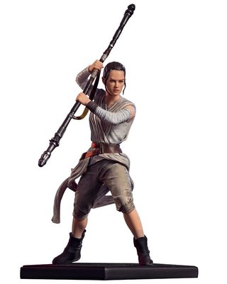 REY IRON STUDIOS 1/10 ART SCALE - STAR WARS na internet
