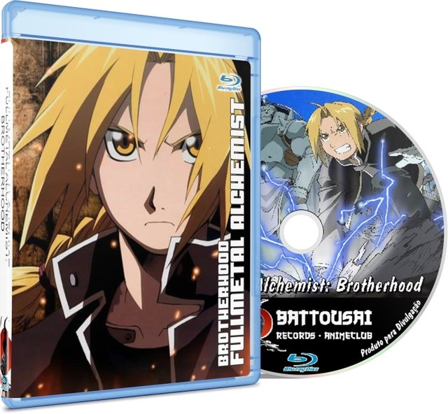 FULLMETAL ALCHEMIST: BROTHERHOOD - BLU-RAY
