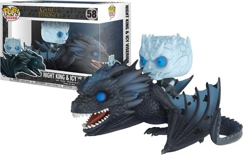 FUNKO POP : GAME OF THRONES - NIGHT KING & ICY VISERION