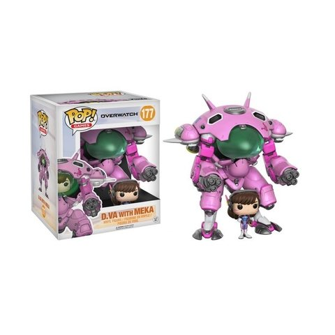 FUNKO POP : OVERWATCH - D.VA WITH MEKA