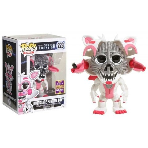 FUNKO POP : FIVE NIGHTS AT FREDDY'S SISTER LOCATION - JUMPSCARE FUNTIME FOXY (EXCLUSIVO 2017 SUMMER CONVENTION)
