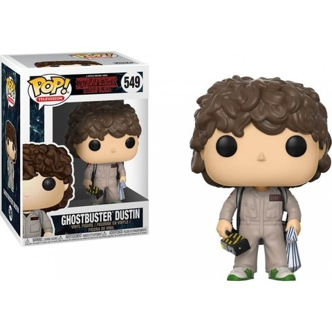 FUNKO POP : STRANGER THINGS - DUSTIN GHOSTBUSTER