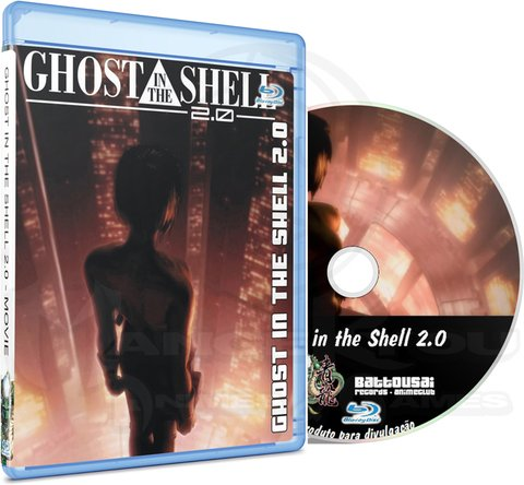 GHOST IN THE SHELL 2.0 - MOVIE (EDIÇÃO FANSUBBER) - BLU-RAY