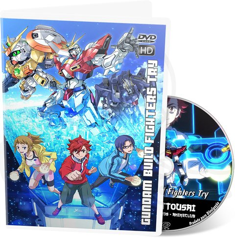MOBILE SUIT GUNDAM BUILD FIGHTERS TRY