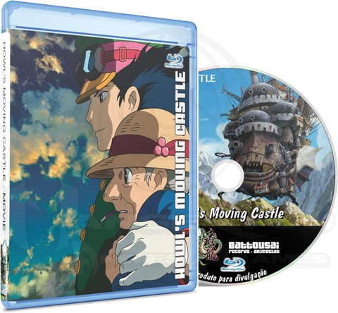 HOWL'S MOVING CASTLE - MOVIE (EDIÇÃO FANSUBBER) - BLU-RAY