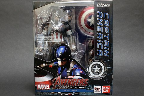 CAPTAIN AMERICA - AVENGERS: AGE OF ULTRON - S.H. FIGUARTS - BANDAI - loja online