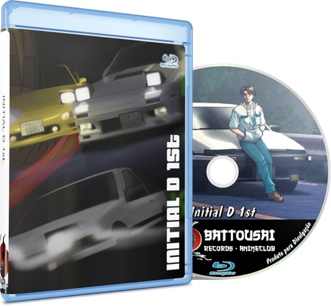 INITIAL D 1st STAGE - BLU-RAY