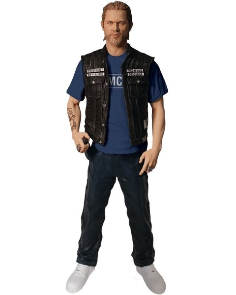 JAX TELLER (SAMCRO T-SHIRT VER.) - SONS OF ANARCHY - MEZCO