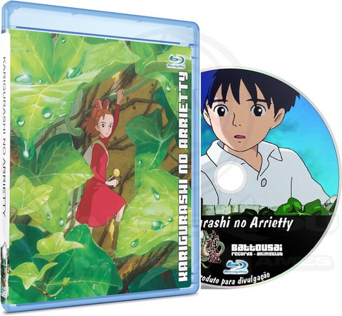 KARIGURASHI NO ARRIETTY - MOVIE (EDIÇÃO FANSUBBER) - BLU-RAY