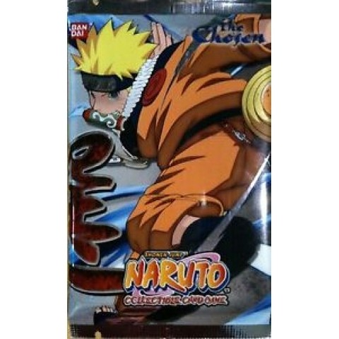 BOOSTER NARUTO - THE CHOSEN - CARD GAME