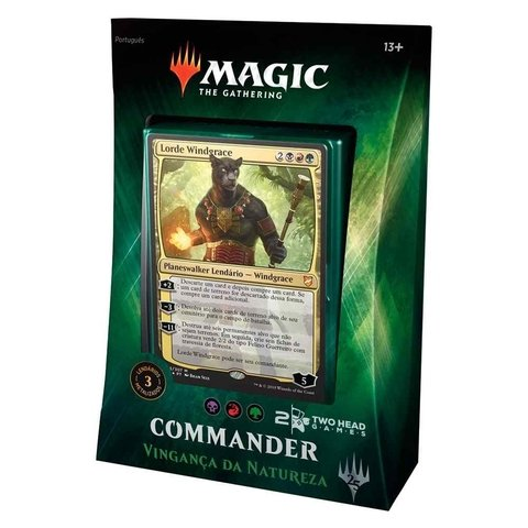 DECK COMMANDER 2018 - VINGANÇA DA NATUREZA