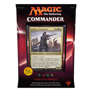 MAGIC COMMANDER 2016 - CONFLITO ABERTO