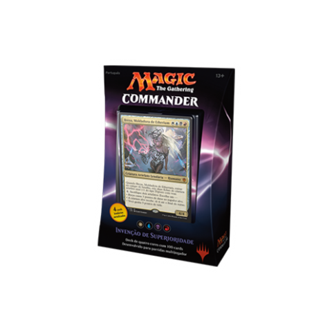 MAGIC COMMANDER 2016 - INVENÇÃO DE SUPERIORIDADE