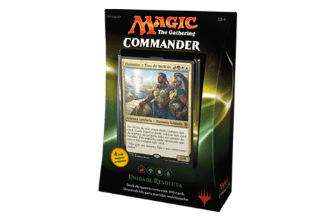MAGIC COMMANDER 2016 - UNIDADE RESOLUTA