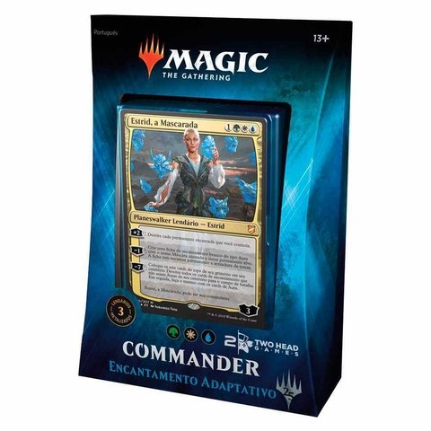 DECK COMMANDER 2018 - ENCANTAMENTO ADAPTATIVO