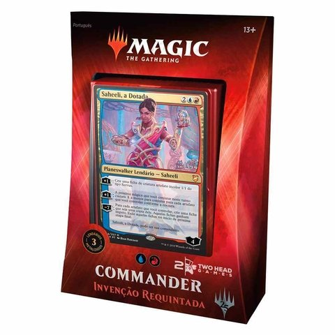 DECK COMMANDER 2018 - INVENÇÃO REQUINTADA