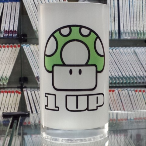 CANECA CHOPP - MARIO 1 UP
