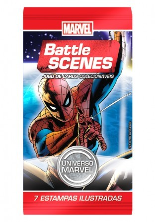 BOOSTER BATTLE SCENES MARVEL - loja online